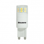 Bulbrite LED3G9/WW 3-Watt LED T4 G9 Bulb, 20W Halogen Equivalent, Soft White