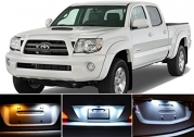2000 - 2015 Toyota Tacoma Xenon White LED Light Bulbs Package for License Plate/ Tags (2 pieces)