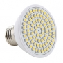 ZQ Mini light bulbs E27 3W 80x3528 SMD 270LM 2800-3200K Warm White Light LED Corn Bulb (230V)