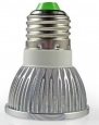 ZQ Mini light bulbs 3W E27 260LM Light LED Spot Bulb(220V) , warm white