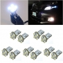 10 PCS Kecko® T10 169 194 501 W5W 5-SMD LED DC 12V Xenon White Canbus Car Wedge Led Light Lamp Bulbs--Car Bulbs Replacement
